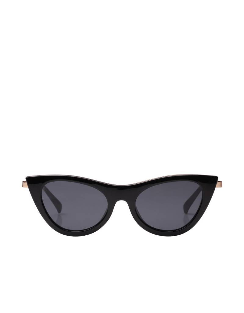 Le Specs Enchantress Sunglasses in Black