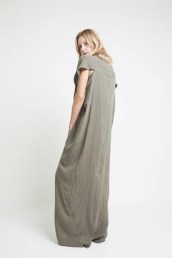 The Podolls Long Kaftan in Nettles