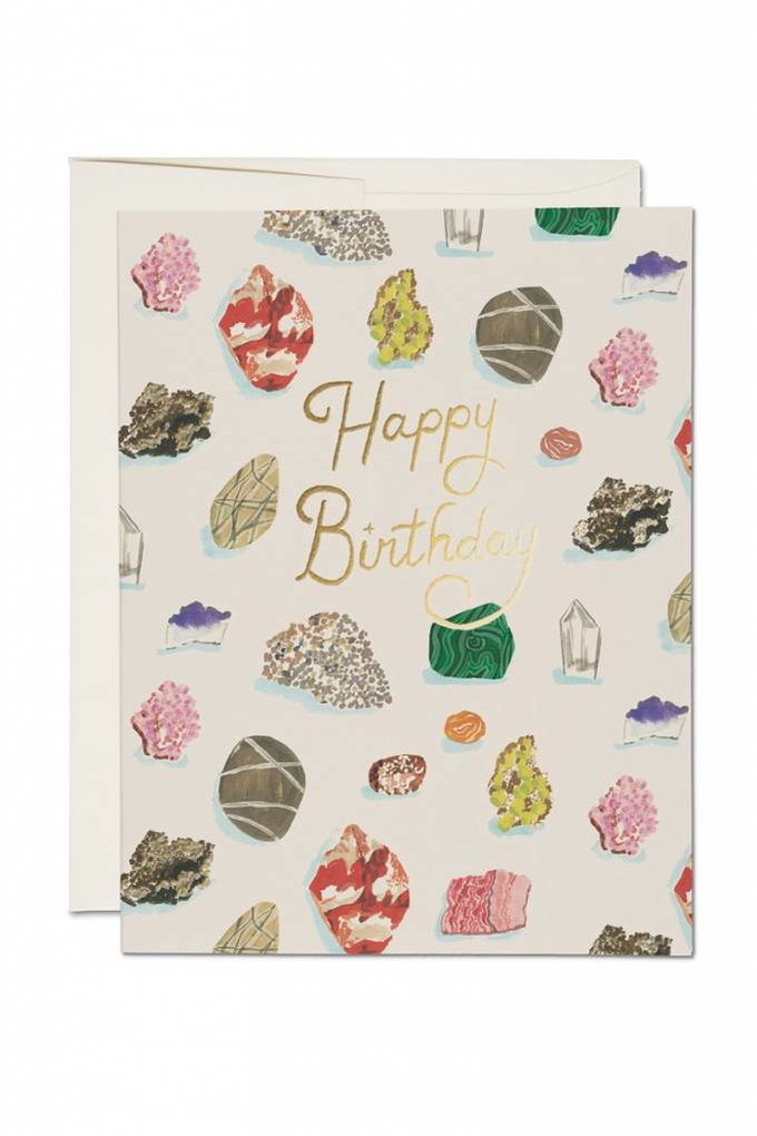 Red Cap Cards Birthday Gems Card