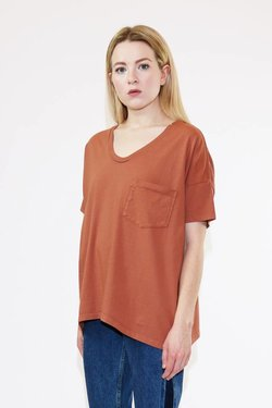 SkarGorn #61 Tee in Brick Wash