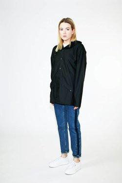 Rains Rains Jacket in Black