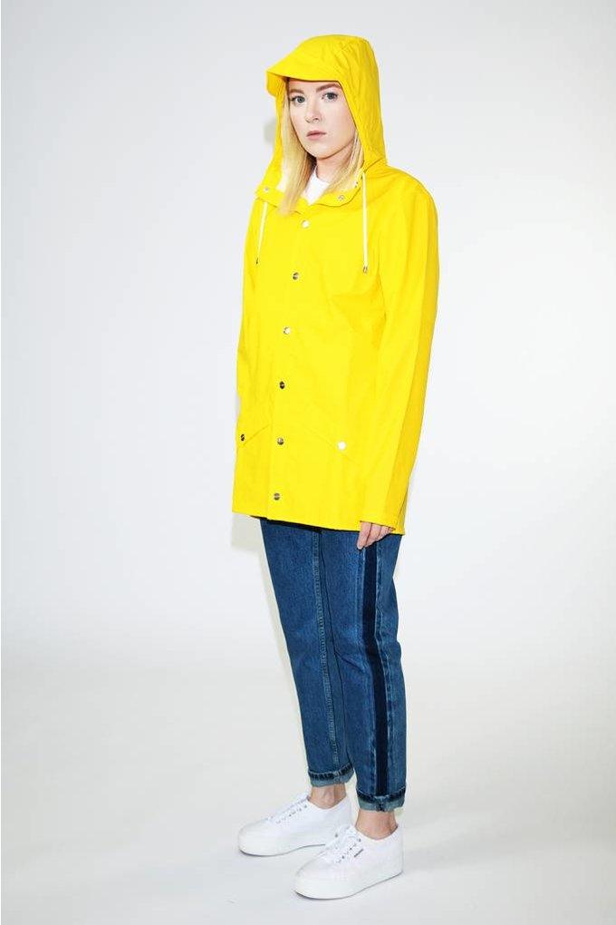 Rains Rains Jacket in Yellow