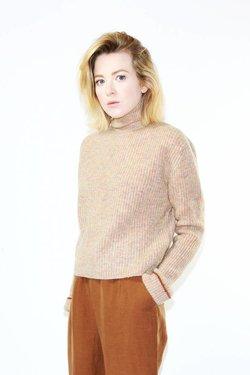 Paloma Wool Vesta Sweater in Soft Pink