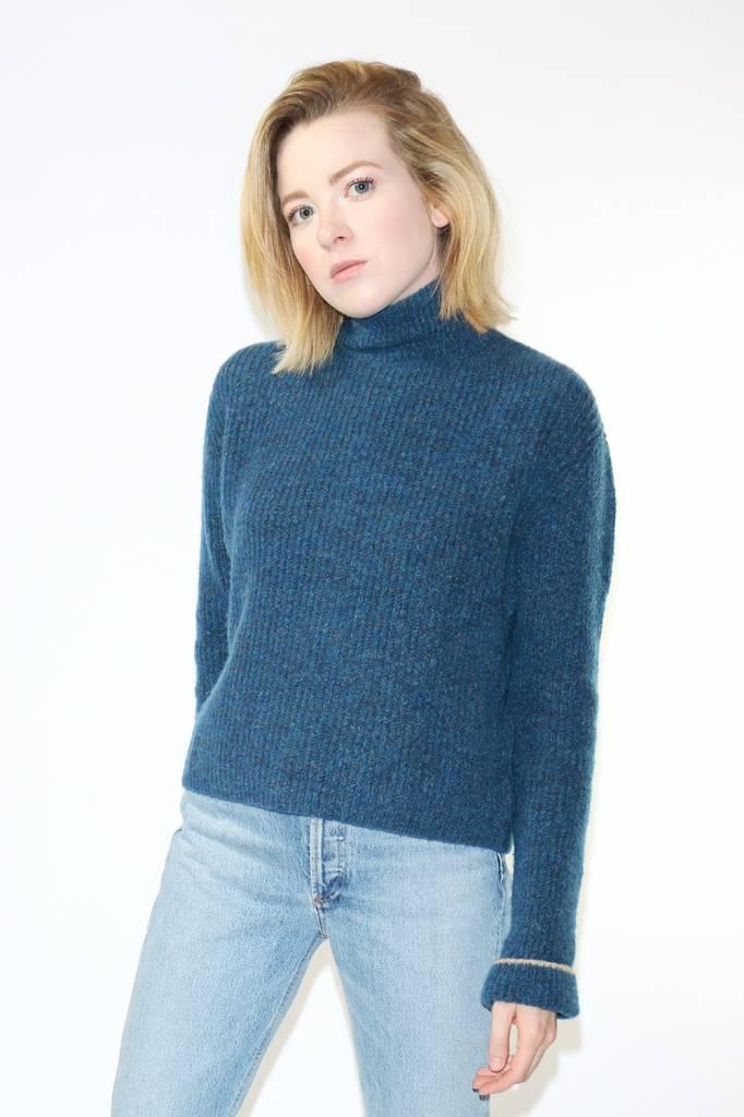 Paloma Wool Vesta Sweater in Indigo Blue
