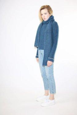 Paloma Wool Gianna Scarf in Indigo Blue