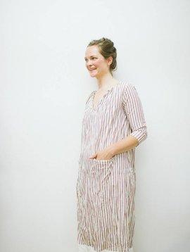 Hazel Brown stripe tunic