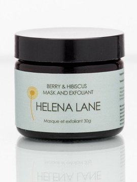 helena lane hibiscus & berry mask and exfoliant