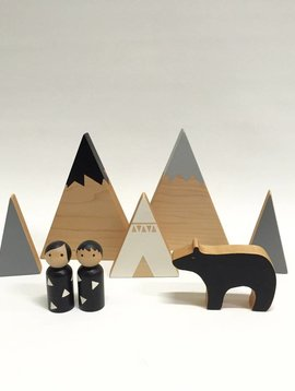 Trae Designs happy campers set