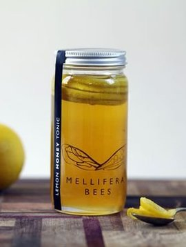 mellifera bees lemon honey 8 oz