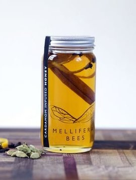 mellifera bees cardamon honey 4oz