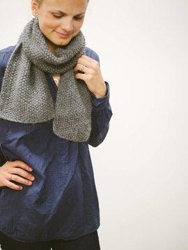 handknit alpaca scarves