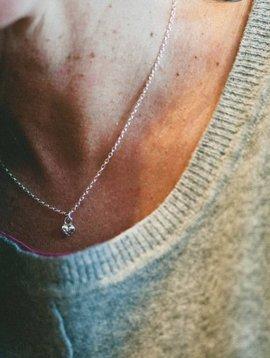silver heart small