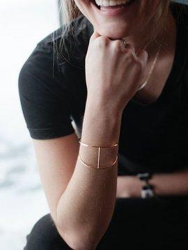 hart+stone 14K gold filled calypso cuff