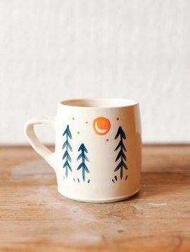 quiet forest mug