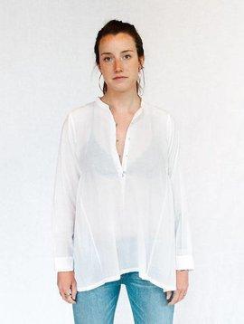 injiri guler - 06 long sleeve shirt white