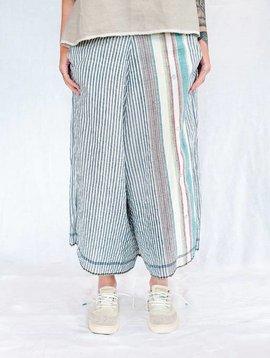 injiri guler - 52 pants blue stripe