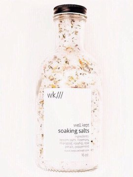 well kept soaking salts 8oz