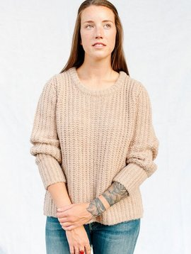 humanoid ones knit jumper oat