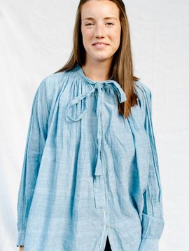 injiri anthony blouse azure