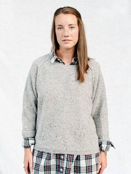 humanoid jide knit jumper pebble