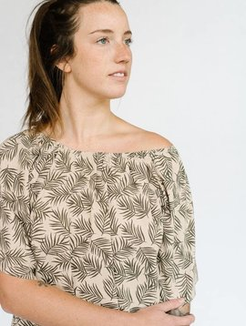 rylee and cru palm dress