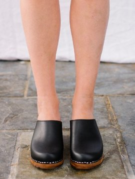 Kitty Clogs low klassisk onyx dark