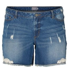 JunaRose Denim Short with Lace