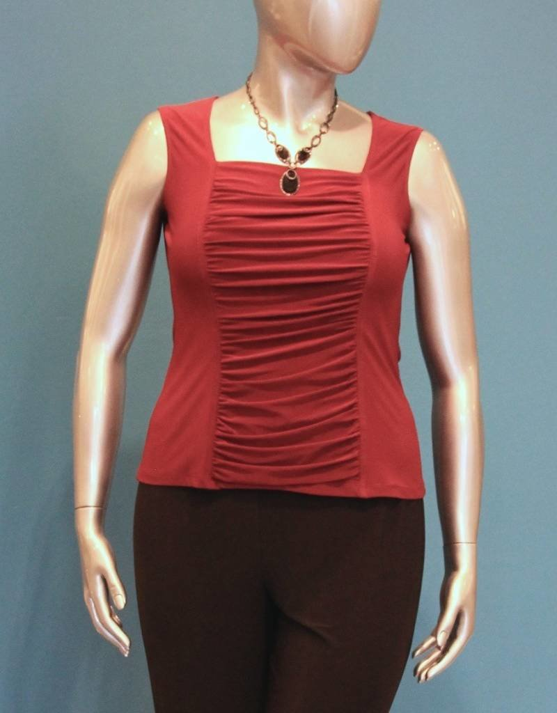Ruched Front Top (W)