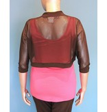 Artex Fashion Mesh Shrug