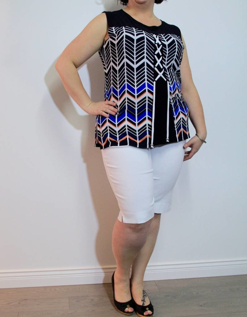 Mode de Vie White Bermuda
