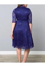 Kiyonna Mademoiselle Lace Dress