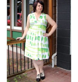 Tango Mango Lime Summer Dress
