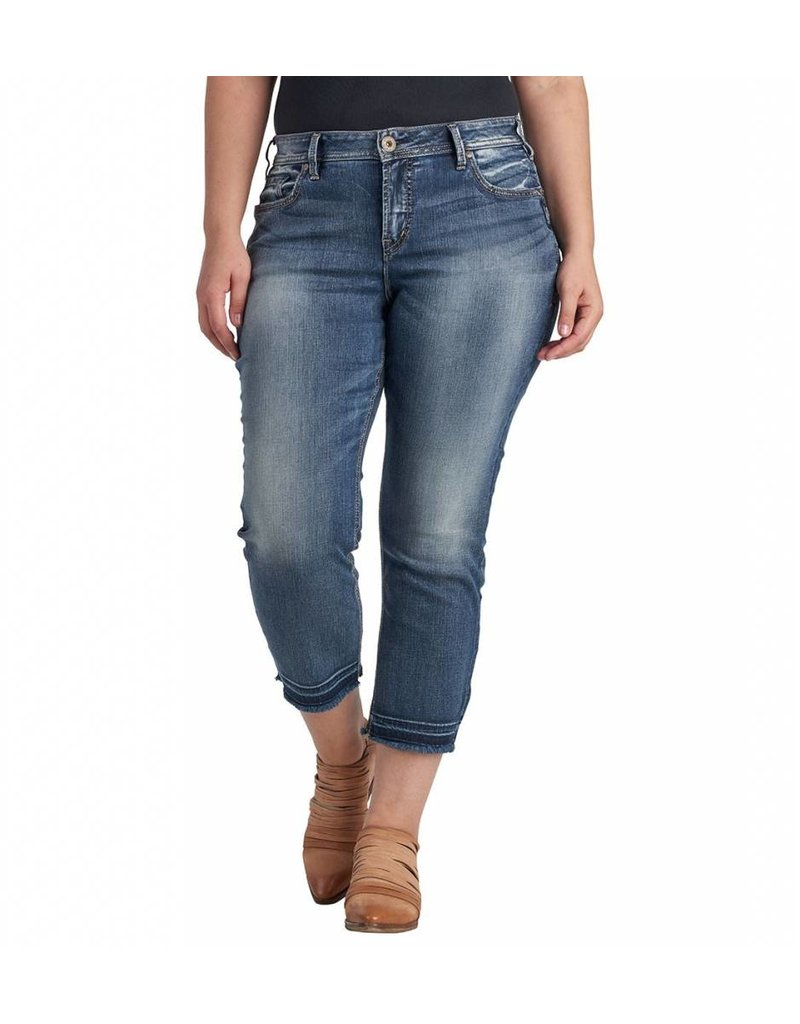 Silver Jeans Avery Skinny Crop