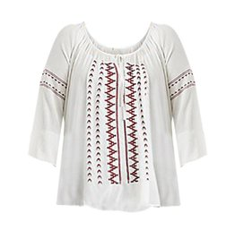 Dex Embroidered Blouse