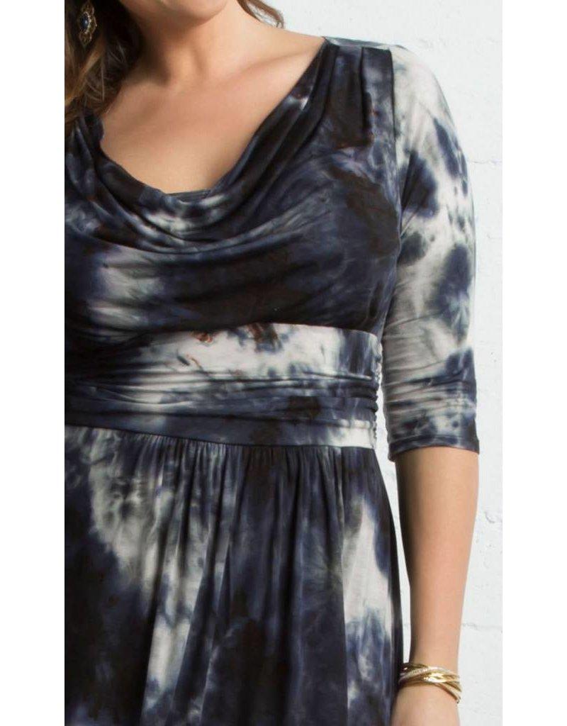 Kiyonna Draped in Class Dress