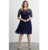 Kiyonna Alexa Retro Dot Dress