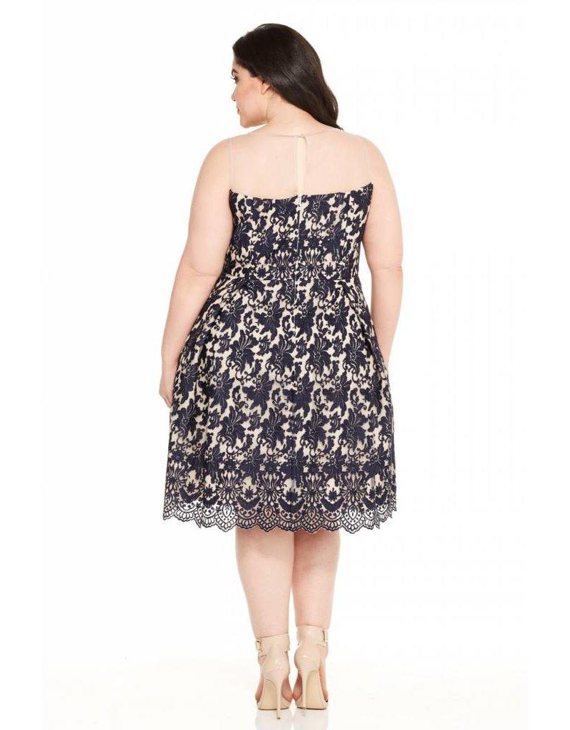London Times Marilyn Lace Dress