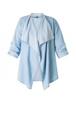 Yesta by X-Two Chambray Cardigan