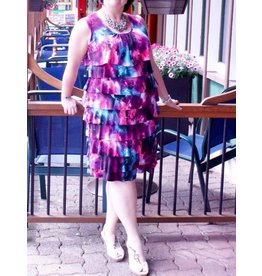 Pretty Women Felicia Ruffle Dress