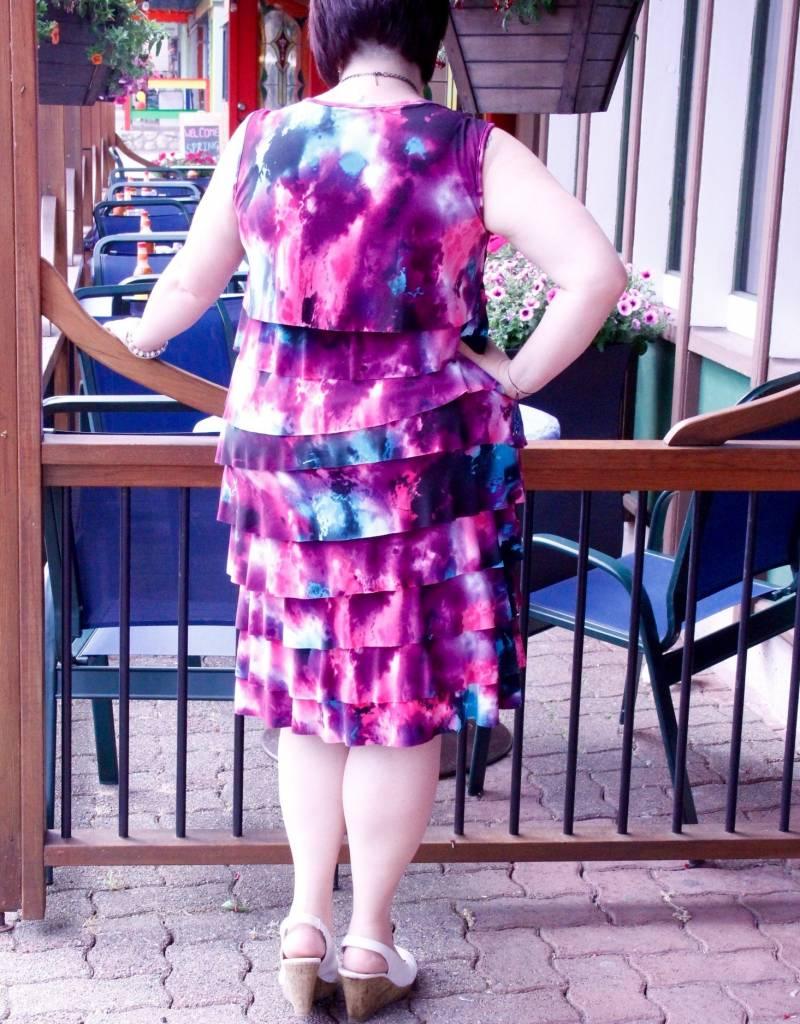 Pretty Women Felicia Ruffle Dress