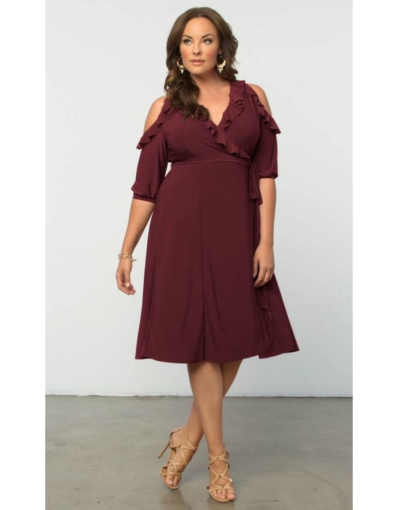 Kiyonna Barcelona Wrap Dress
