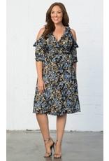 Kiyonna Barcelona Wrap Dress