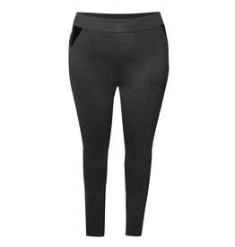 Dex Legging with Faux Leather Inset