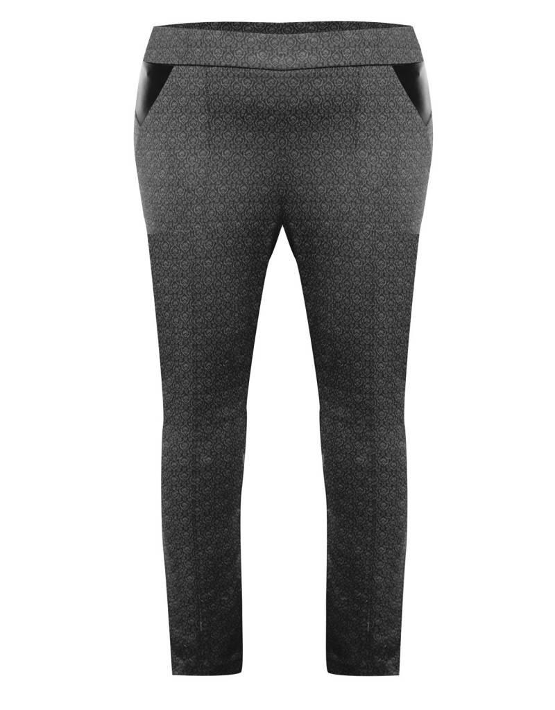 Dex Charcoal Print Leggings