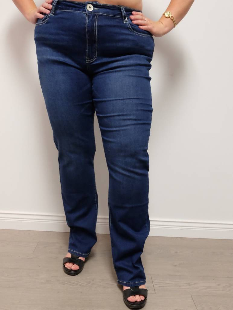 Carreli Jeans Angela High Rise Slim
