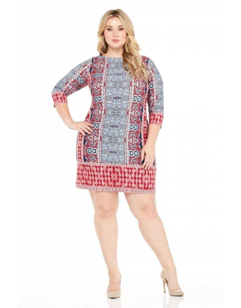 London Times Cora Sheath Dress