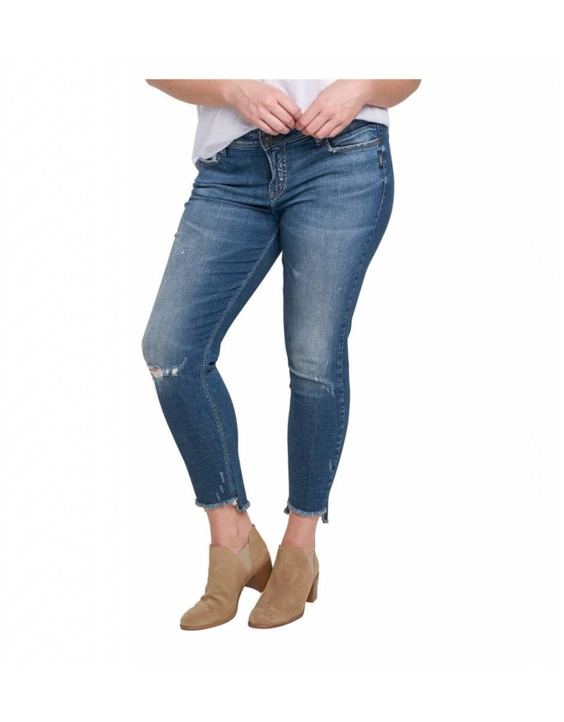 Silver Jeans Calley Ankle Skinny