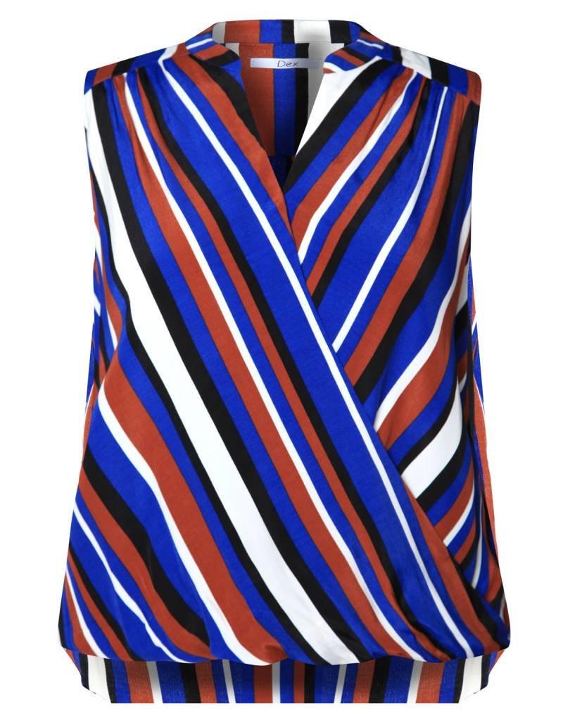 Dex Striped Blouse