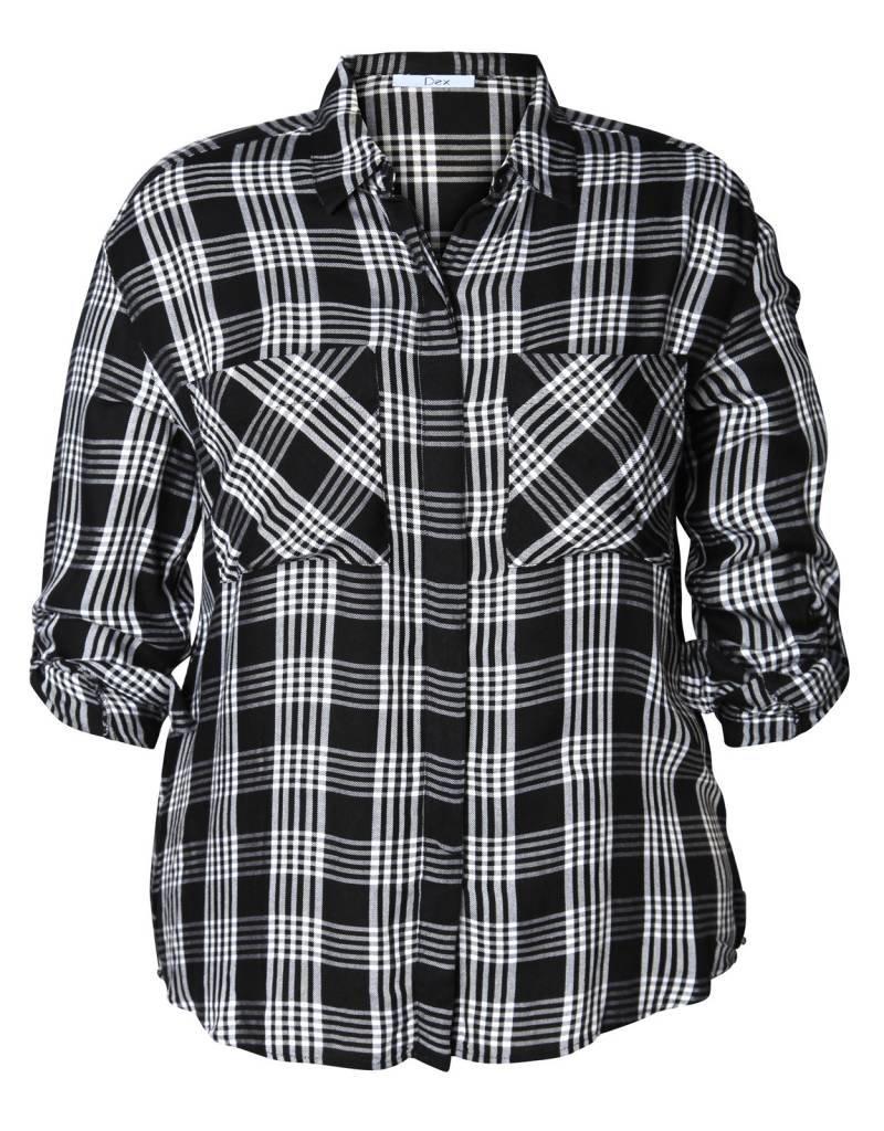 Dex Briana Plaid Shirt