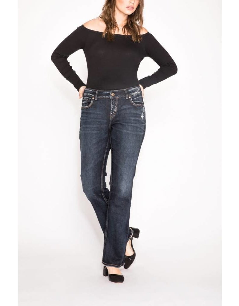 Silver Jeans Elyse Slim Boot Jeans
